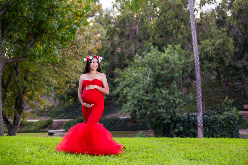 Orange County maternity pictures