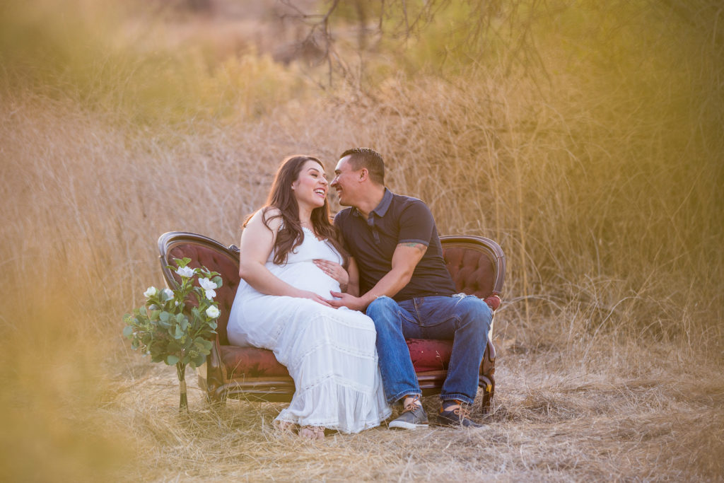 maternity photo session in Irvine