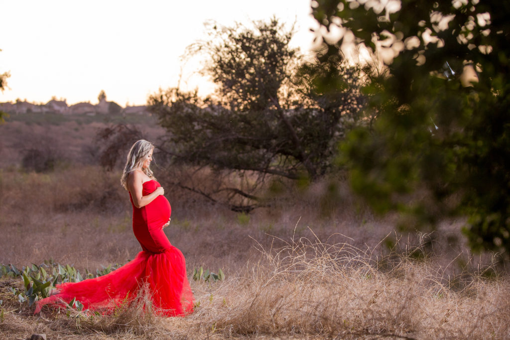 Orange county photographer for maternity session
